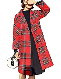 scarpe di separazione fa5d1 89962 Amazon.it: giacca scozzese - Giacche e cappotti / Donna ...