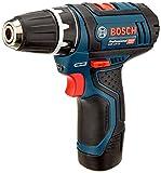 Bosch Professional Akku-Bohrschrauber GSR 12V-15 (mit 2x 2,0 Ah Akku, Ladegerät, 39-tlg. Zubehör-Set, Profi-Tasche, max. Schrauben-Ø: 7 mm, 12 Volt) - 2