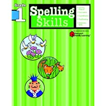 Spelling Skills: Grade 1 (Flash Kids Harcourt Family Learning)