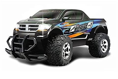 JEEP RAMPAGE RC RADIOCOMMANDE 40CM CROSS COUNTRY 1:12