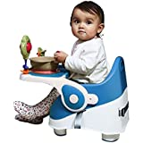 GoodLuck Baybee- Comfort Folding Baby Booster Seat Chair For Babies|Toddlers Booster Seat Chair For Kids Eating With 3 Point Safety Harness Suitable For Childs/Infants (6 Months To 3 Years) (Blue)