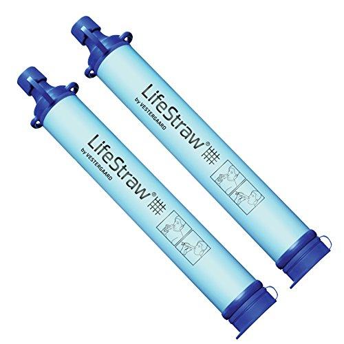 LifeStraw® Personal // Wasserfilter // Entfernt Bakterien, Protozoen und Trübung // Ideal für Wandern, Trekking, Camping, Reisen und Notbereitschaft.