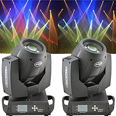 2pcs 230w LED Spot Beam Moving Head Light Dmx512 7R Dj Stage Light Coming by RXF