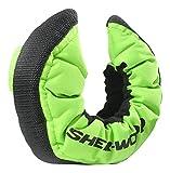 Sherwood Unisex - Copri-Pattini Sher-Wood PRO Senior, per Hockey su Ghiaccio, Unisex, Eishockey, Limone, Taglia Unica