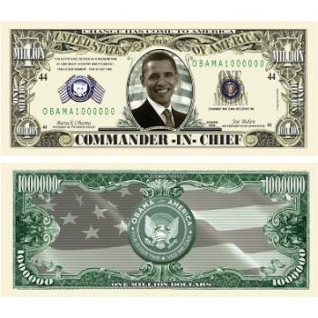 Barack Obama Million Dollar Bills Case Pack 100 by DDI
