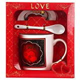 Miradh Valentine Mug Set, Best Gift for Mother's Day, Valentine's Day, Wedding Day, Birthday, Christmas, Thanksgiving, Home Décor