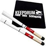Sela SE036 Cajon Brush + KEEPDRUM Sitz-Pad