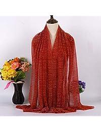 586387ba6aad WJJ Écharpe Universelle Quatre Saisons, Foulard Fashion, Longue écharpe  Arabe