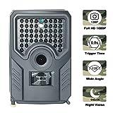 JuneJour Wildkamera 1080P Jagdkamera Beutekameras mit 940nm IR LED's Sensoren mit Bewegungsaktivierung Nachtsicht wasserdichte IP56 Überwachungskamera