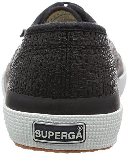 Superga 2750-Raffiau, Scarpe Low-Top Unisex Adulto Nero