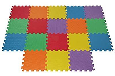 Ardisle 18 Tiles Eva Kids Play Flooring Foam Interlocking Fun Activity Mats Mat Jigsaw - inexpensive UK light store.
