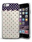 iCreat SUPER-CASE iphone cover schönes Design mit Anker und Punkte