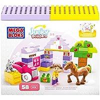 Junior Builders - Establo de Ponis, juego de construcción (Mega Brands 07156)