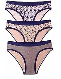 amanté Stretch Cotton Bikini Brief (Pack of 3)