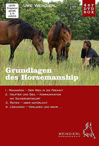 Weinzierl Horsemanship - Grundlagen des Horsemanship von Uwe Weinzierl - 4er DVD Box