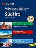 Südtirol: 3 in 1: Das KOMPASS-Outdoor-Karten Ringbuch mit kompletter Gebietsabdeckung 1:35000: Outdoorkaarten 1:35 000 in ringband -