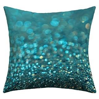 DENY Designs Lisa Argyropoulos Aquios Outdoor Throw Pillow, 16 x 16