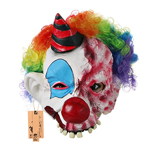 Laterne Maske Kürbis Maske Halloween Kostüm Party Requisiten Latex Monster Masken für Erwachsene 2pcs/Set ()