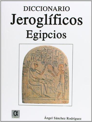 ESTE DICCIONARIO DE JEROGLIFICOS ES EL PRIMERO QUE SE PUBLICA EN LENGUA ESPAñOLA.SUS 6.000 ENTRADAS, PERTENECIENTES A LA LENGUA EGIPCIA EN SU MODALIDAD JEROGLíFICA, RECOGEN EL VOCABULARIO DESDE LA III DINASTíA HASTA LOS ALBORES DEL REINO NUEVO, C
