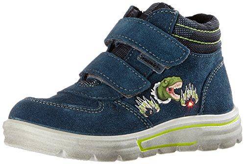 Ricosta Jungen Ferro Hohe Sneaker, Pavone/Graphit, 00026 EU