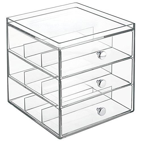 interdesign-clarity-3-tiroirs-de-rangement-empilables-pour-lunettes-de-vue-et-de-soleil-transparent