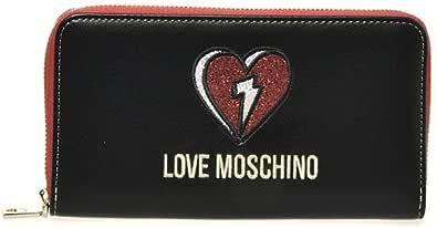 Love Moschino JC5636PP0BKJ0, Portafogli Donna, Nero, Normale