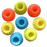 Asien Cake Mold Tool - Cake Stampi - Mold Muffin 8 * 3.5cm Cupcake Pane Mousse, gelatina, cioccolato, torta Caso muffa, la decorazione della torta