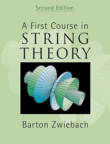 A First Course in String Theory 2nd Edition Hardback por Zwiebach