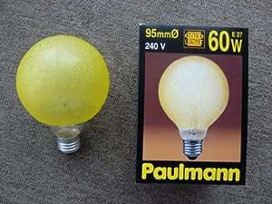 Paulmann Ampoule Globe 60W, 138mm 95mm E27eiskris Vallée