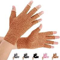 Brace Master Arthritis Gloves 2 Pairs, Compression Gloves Support and Warmth for Hands, Finger Joint, Relieve... preisvergleich bei billige-tabletten.eu