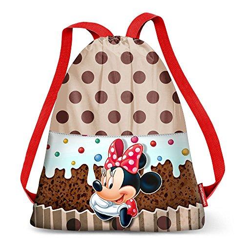 Minnie Mouse KM-37314 2018 Bolsa de Cuerdas para el Gimnasio, 40 cm