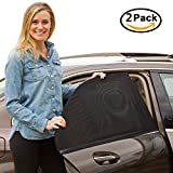 Sonnenschutz Auto Kinder, Outera Auto Hinterseitenfenster Sonnenblenden, Ihre und ältere Kinder werdenvorSonnengeschützt, geeignet für Autos und SUVs [2 Stück]