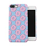 Sugar Glazed Sweet Donuts Pattern Apple iPhone 7 PLUS Snap-On Hard Plastic Protective Shell Case Cover Custodia