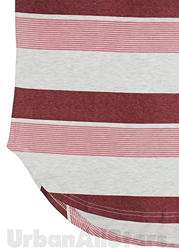 SoulStar Herren T-Shirt mehrfarbig mehrfarbig XX-Large Rot