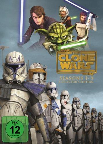 Star Wars: The Clone Wars - Komplettbox Staffel 1-5 (exklusiv bei (6 Clone Star Wars Wars)