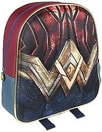 Preisvergleich für Cerdá 3D Wonder Woman Kinder-Rucksack, 31 cm, Gelb (Amarillo)