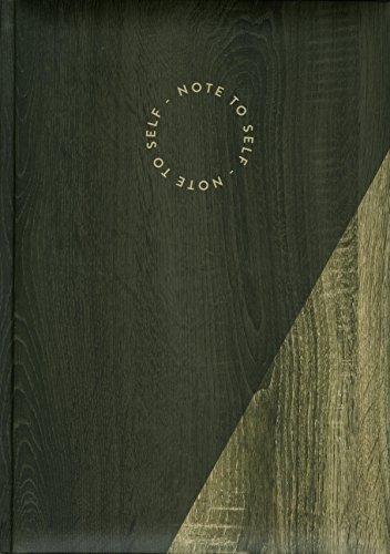 Pierre Belvedere Notizbuch groß Braunes Holz multi