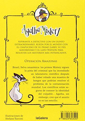 agatha mistery libri  Libro Agatha mistery 17. Operación Amazonas di Steve Stevenson