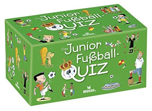 moses. 90233 - Das Junior Fußball Quiz, Kinderquiz ab 8 Jahre -