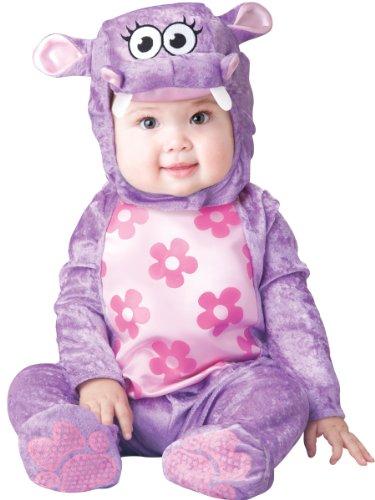 Hippo Baby Lila Nilpferd Fasching Halloween Karneval Kostüm (Kostüme Baby Hippo)