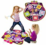 YIMAN™Children Electronic Musical Playmat Non-slip Fitness Dance Pad Dancing Mat Musical Sensitive Zippy Toys(Grid Style)