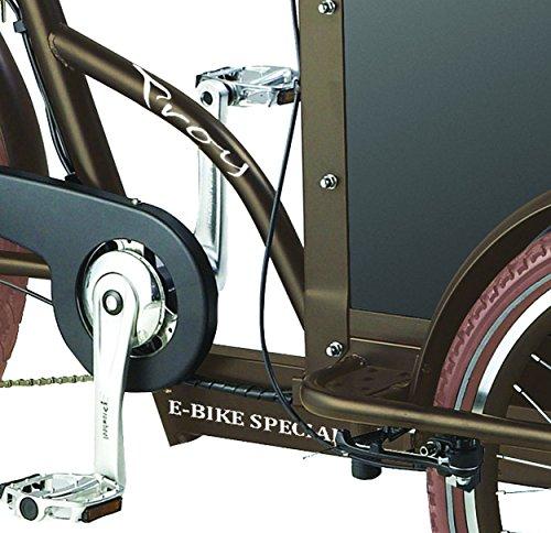 Lastenrad E-Bike Elektro Transportrad Voozer Bild 5*