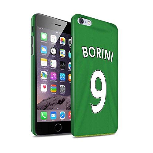 Offiziell Sunderland AFC Hülle / Glanz Snap-On Case für Apple iPhone 6+/Plus 5.5 / Torwart Muster / SAFC Trikot Away 15/16 Kollektion Borini