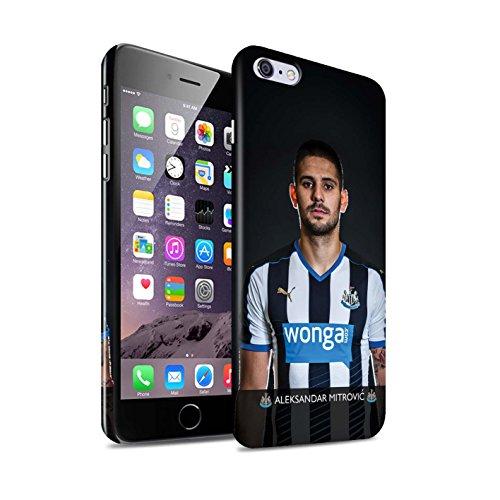 Offiziell Newcastle United FC Hülle / Glanz Snap-On Case für Apple iPhone 6+/Plus 5.5 / Pack 25pcs Muster / NUFC Fussballspieler 15/16 Kollektion Mitrovic