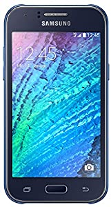 Samsung Galaxy J1 Smartphone (10,9 cm (4,3 Zoll) Touch-Display, 4GB Speicher, Android 4.4) weiß