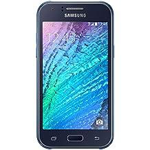 Samsung Galaxy J1 Smartphone (4,3 Zoll (10,9 cm) Touch-Display, 4 GB Speicher, Android 4.4) blau