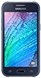 Samsung Galaxy J1 Smartphone (4,3 Zoll (10,9 cm) Touch-Display, 4 GB Speicher, Android 4.4) blau