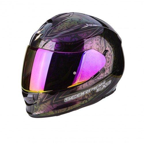 Scorpion casco moto exo-510 air fantasy chameleon nero s