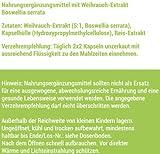Weihrauch hochdosiert 120 Kapseln, 500 mg Boswellia serrata Extrakt davon 325 mg Boswellia Säuren je veganer Kapsel ohne Zusätze - von der Profisport-Marke FSA Nutrition, Hergestellt in Deutschland Test