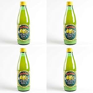 (4 PACK) - Sunita - Org Lemon Juice | 250ml | 4 PACK BUNDLE